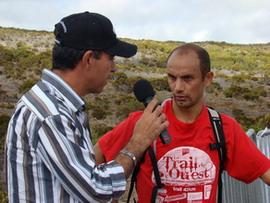 Yannis Hoareau, le vainqueur du Trail de l'Ouest 2008