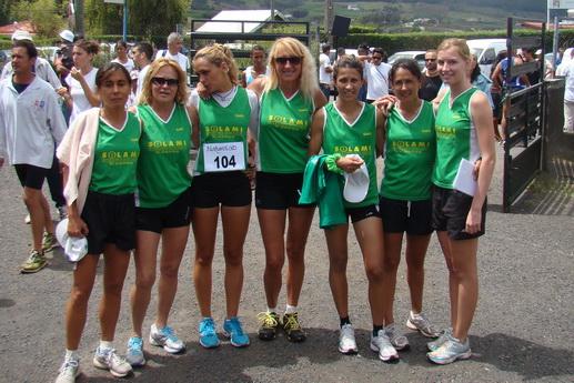 équipe victorieuse du CAPC Filles